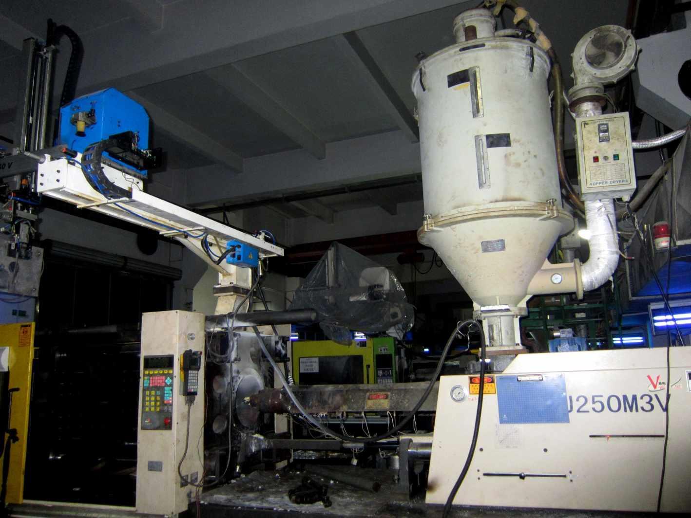 Nylon production picture