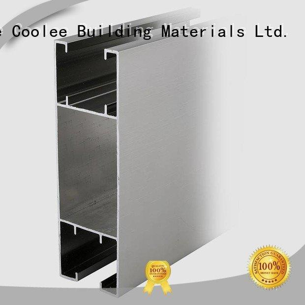 aluminium profile catalog channel Coolee Brand aluminium profile