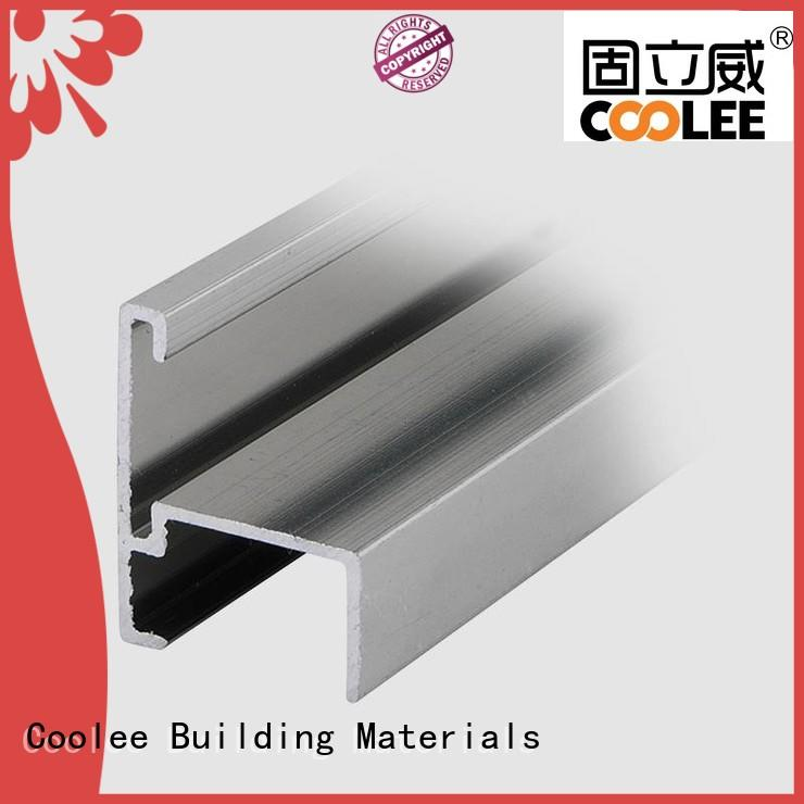 Coolee foot aluminium channel profiles for manufacturer for contractor