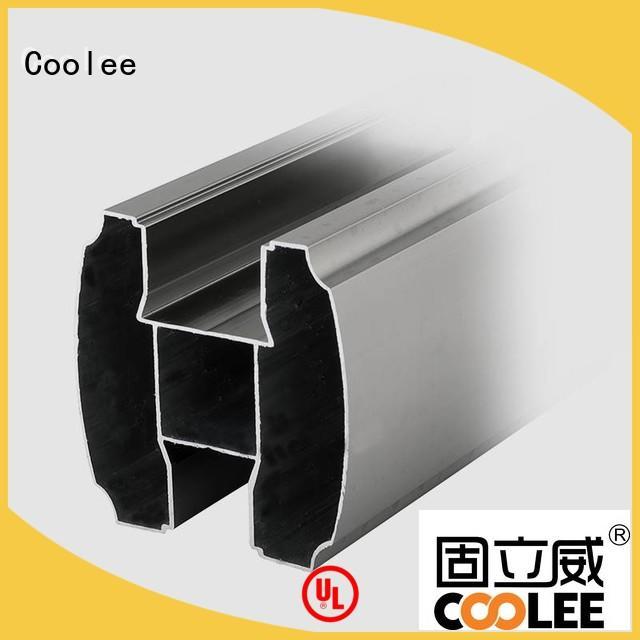 Coolee aluminum aluminium profile overseas market for builder