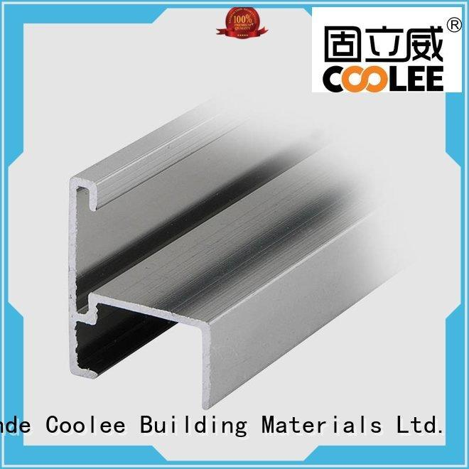 Wholesale fittings aluminium profile catalog Coolee Brand
