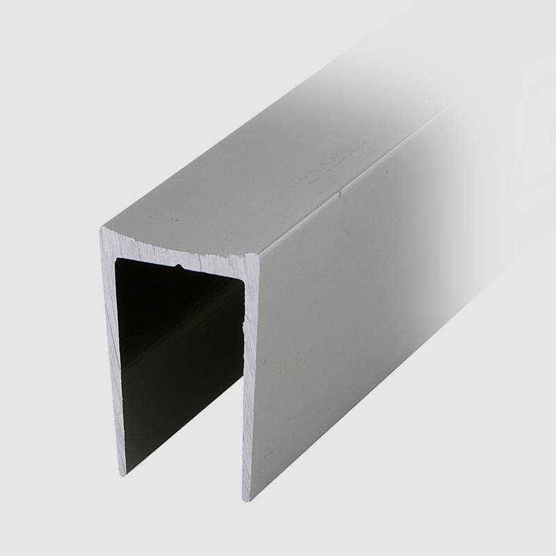 Coolee  Coolee C14 Aluminum U Channel Profile Toilet Washroom Partition Cubicle Fittings Aluminum profiles image3