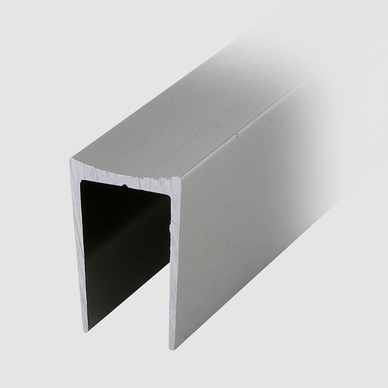 Coolee C14 Aluminum U Channel Profile Toilet Washroom Partition Cubicle Fittings