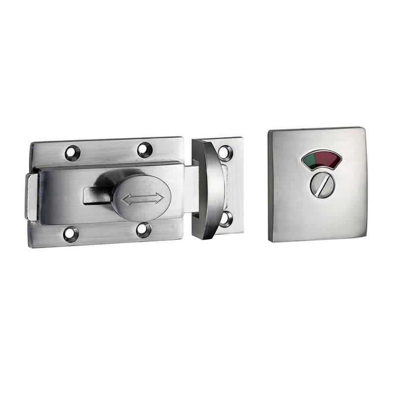 Coolee CL5012 Zinc Alloy Indicator Lock Latch Set Toilet Partition Cubicle Fittings
