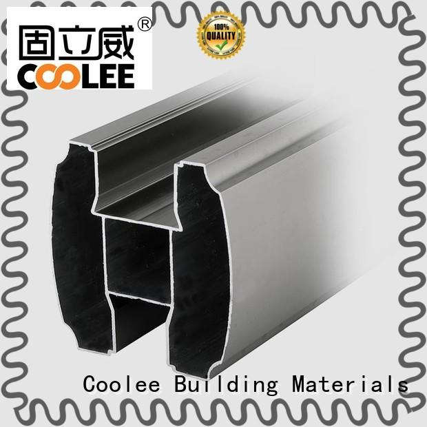 Coolee high quality aluminium profile manufacturers in china for contractor