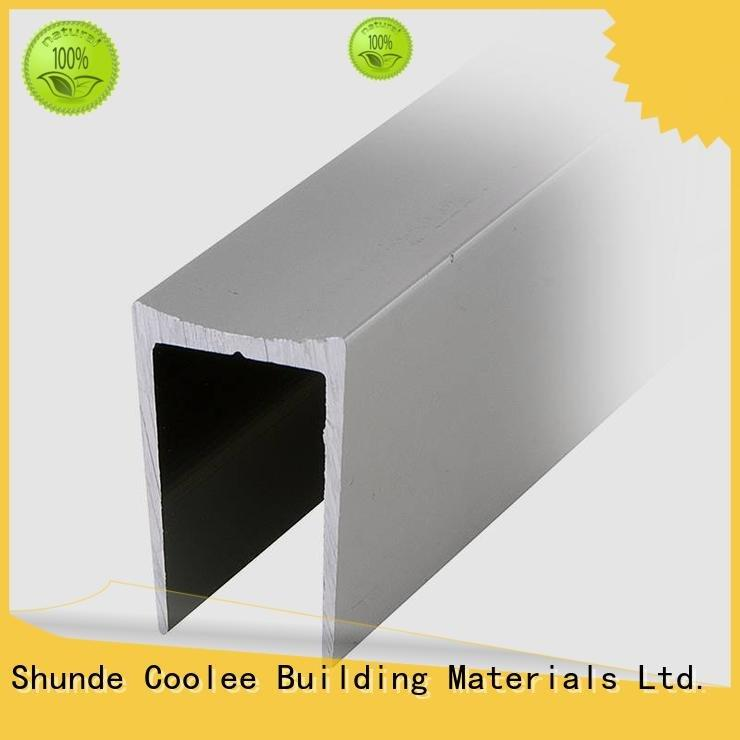 rubber channel OEM aluminium profile