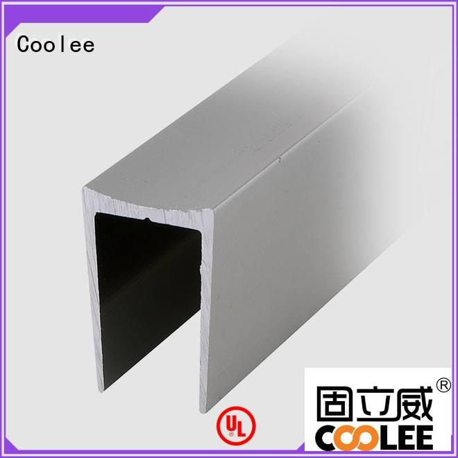 Coolee noble aluminium profile suppliers marketing for contractor