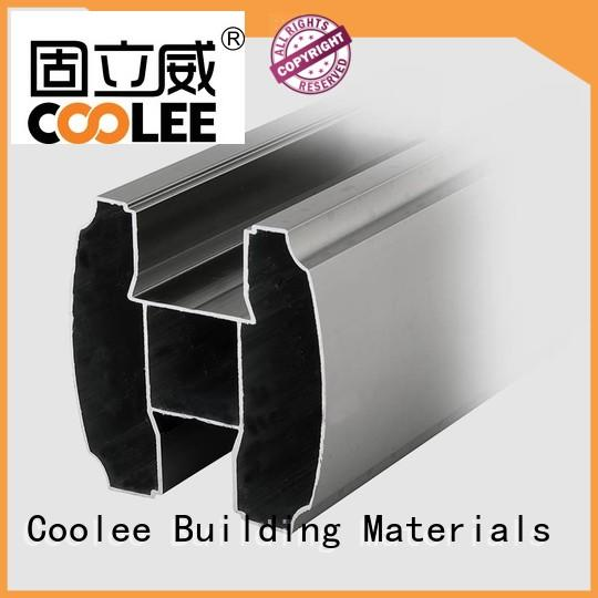 fashionable design aluminum extrusion profiles marketing for contractor