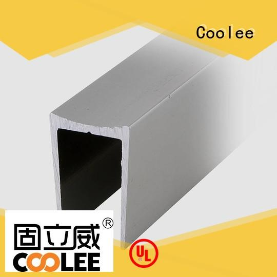 Coolee aluminum aluminum channel profiles factory price for replacement
