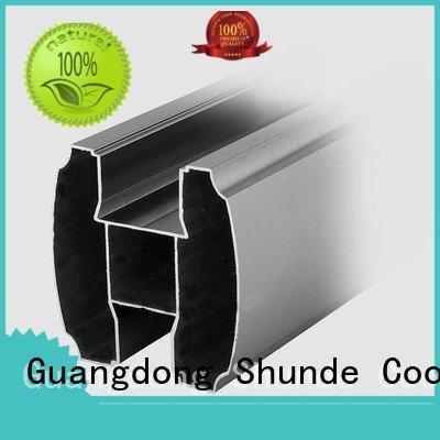 aluminium profile catalog noise partition headrail Coolee