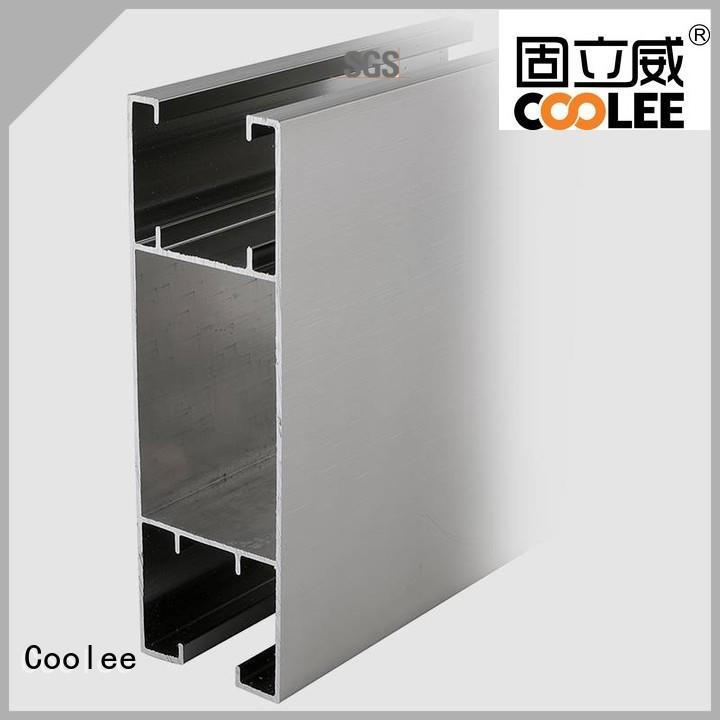 Coolee c17 aluminium profile overseas market for builder