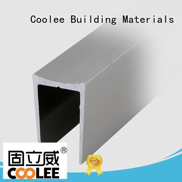 c17 aluminium extrusion profiles catalogue fittings for contractor Coolee
