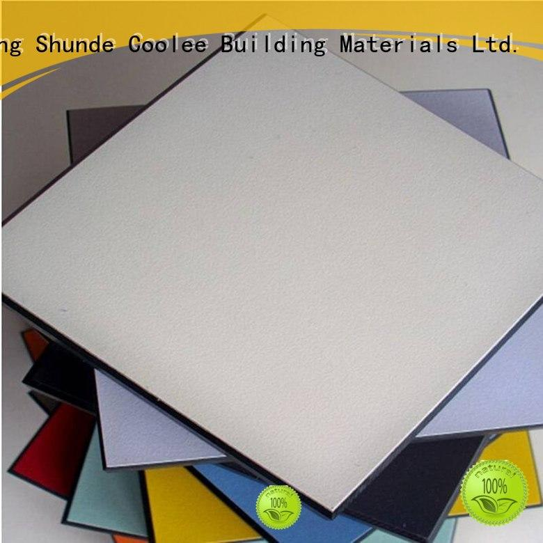 sheet material hot sale compact thickness Coolee Brand toilet partition panels