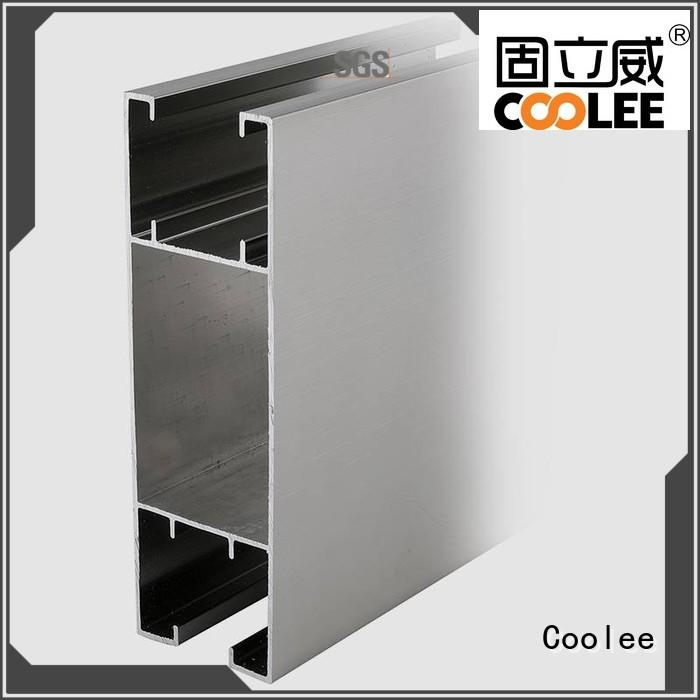 Coolee chemical proof aluminium extrusion profiles catalogue c14 for builder