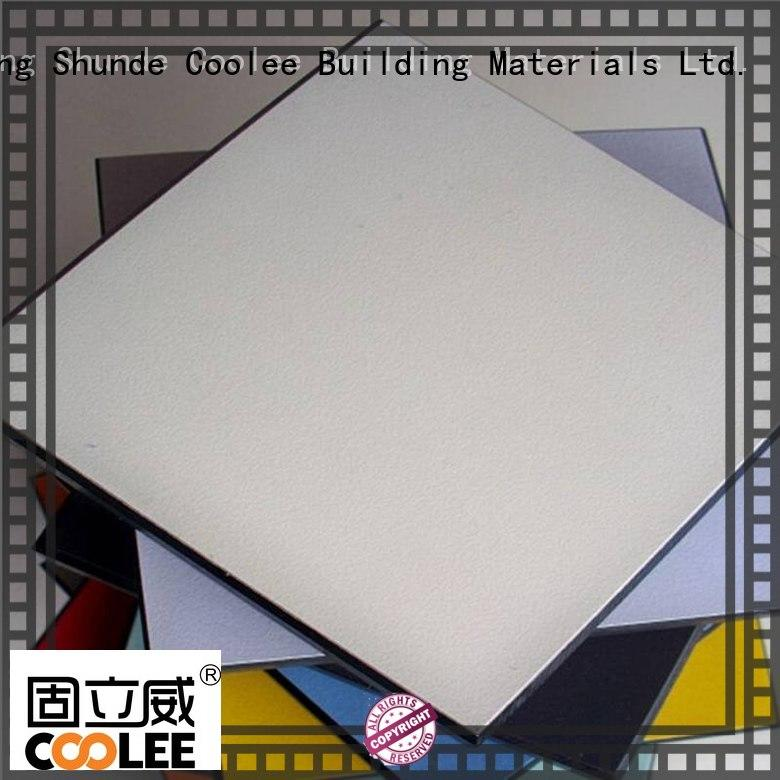 Coolee sheet compact laminate board marketing for new building