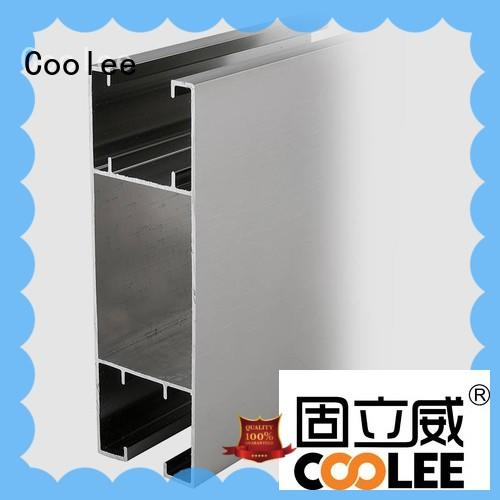 Coolee fashionable design extruded aluminum profiles wholesale for builder