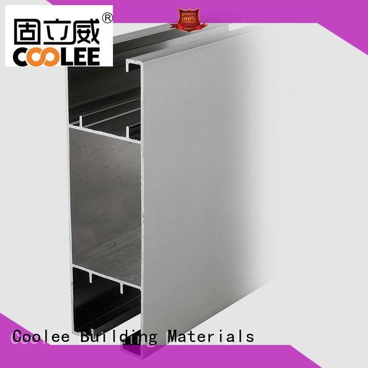 Coolee noble aluminium profile wholesale for contractor