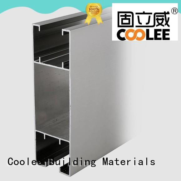 Coolee chemical proof aluminum channel overseas market for builder
