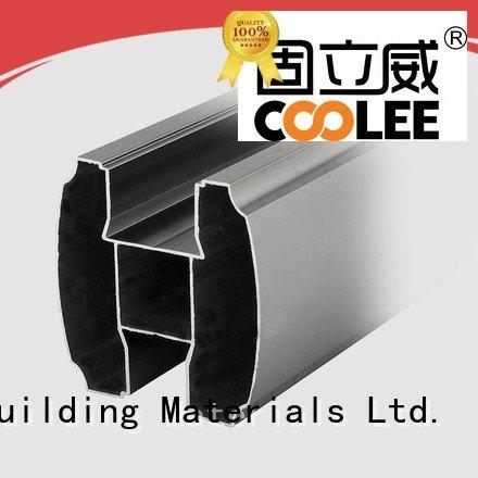 Coolee Brand toilet aluminium profile catalog