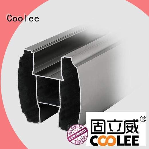 fashionable design aluminium profile suppliers factory price for contractor