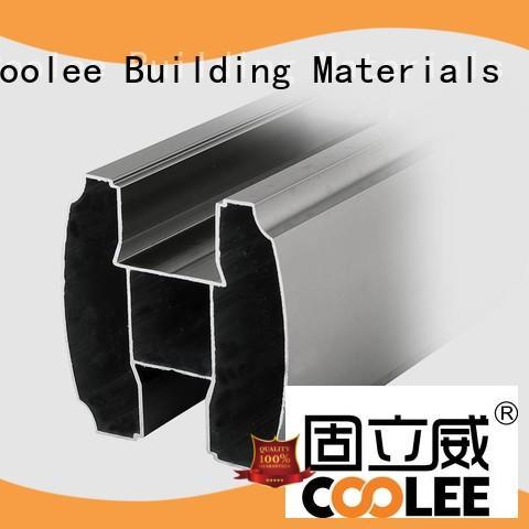 Coolee fittings aluminium profile marketing for builder