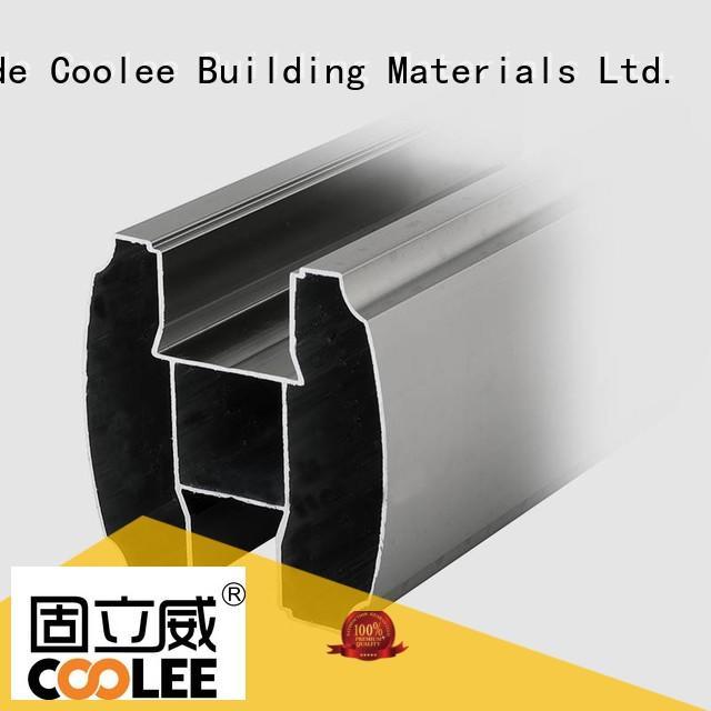 fashionable design aluminium profile manufacturers shoe factory price for builder