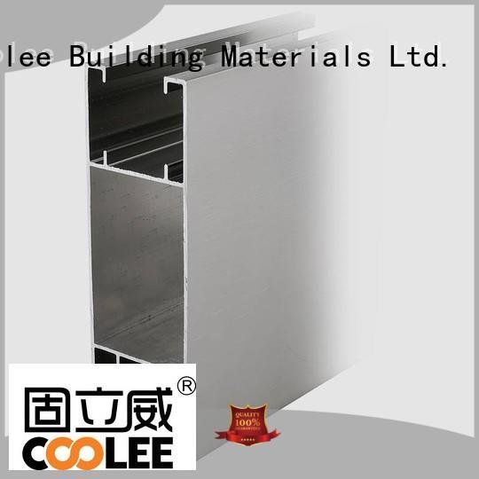 Coolee fashionable design aluminium channel profiles vendor for replacement