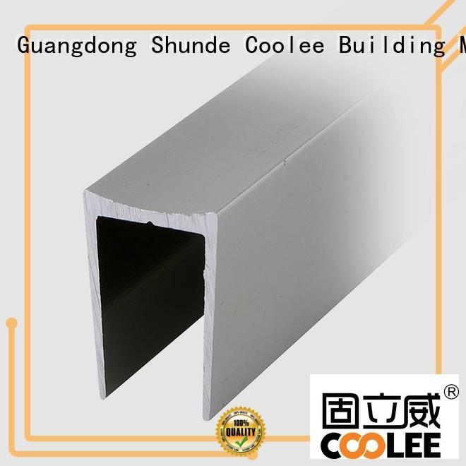 Coolee rubber aluminium profile suppliers overseas market for builder